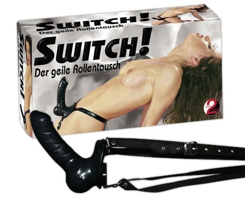Switch Latex Strap - on
