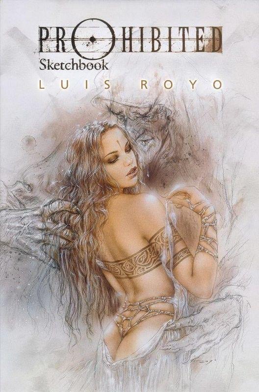 Luis Royo PROHIBITED SKETCHBOOK