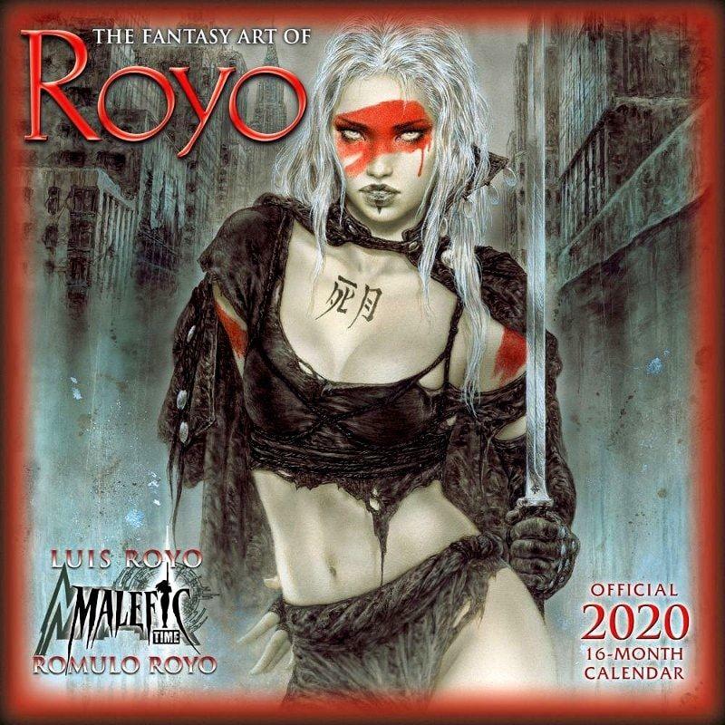 FANTASY ART OF ROYO - 2020 CALENDAR