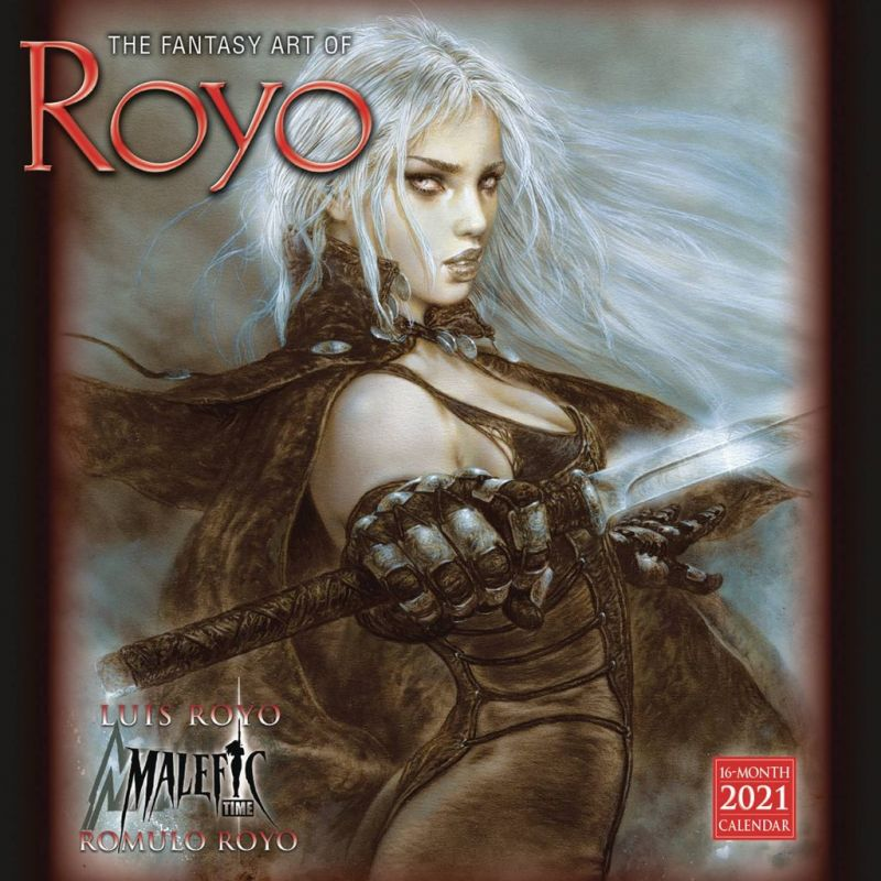 FANTASY ART OF ROYO - 2021 CALENDAR