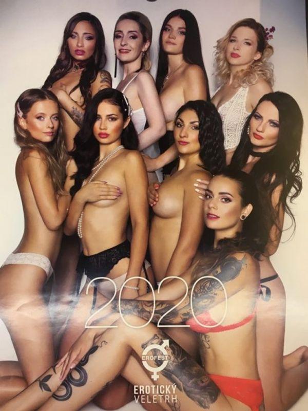Kalendář Miss Erotika 2020
