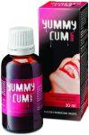 Kapky Yummy Cum pro muže 30ml